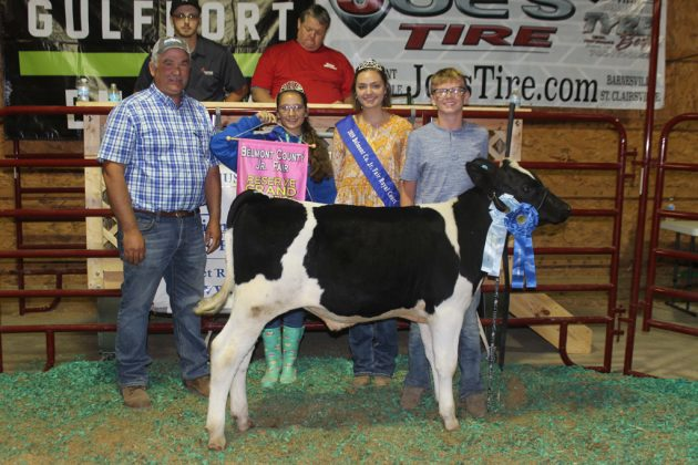 Belmont County Fair Reserve Champion Dairy Feeder