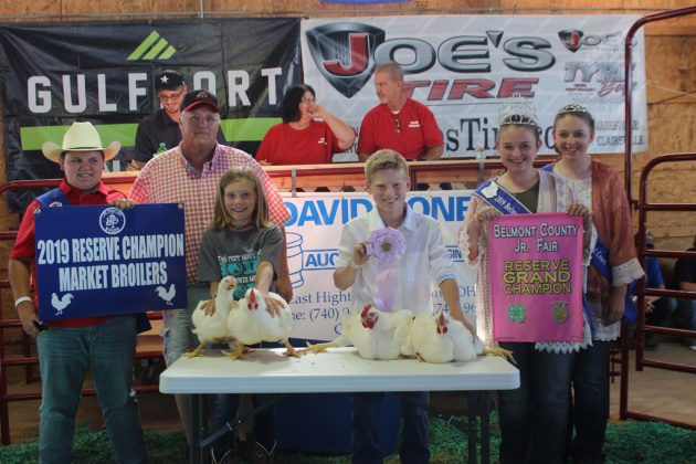 Belmont County Fair Reserve Champion Chickens
