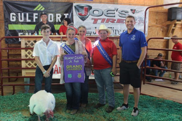 Belmont County Fair Grand Champion Turkey