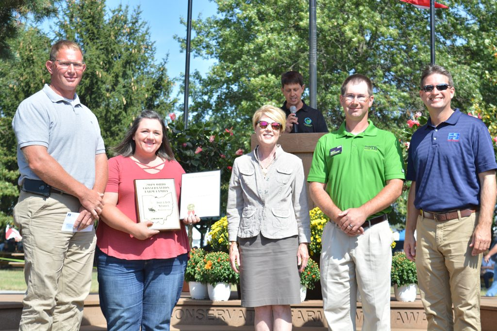 2019 Conservation Farm Family Awards McConnell family photo