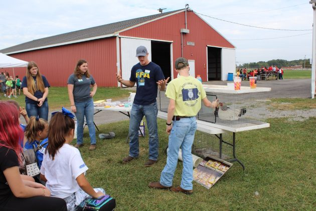 ffa students talk to children
