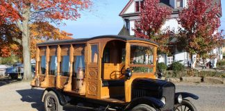 antique 1925 ford hearse