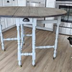 chalk-painted table
