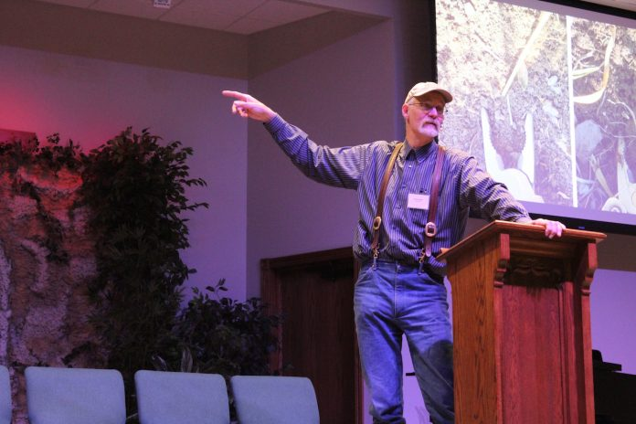 glenn elzinga at grazing conference