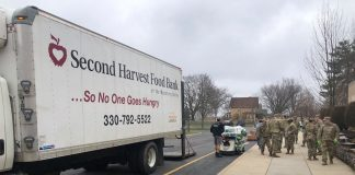 ohio national guard food bank