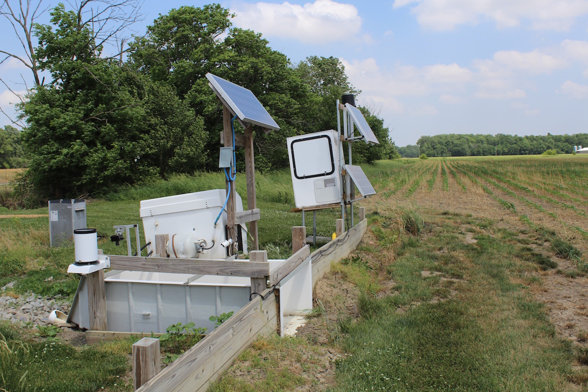 edge of field monitoring system