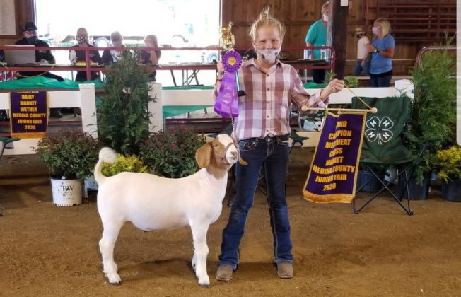 Grand Champion Meat Goat