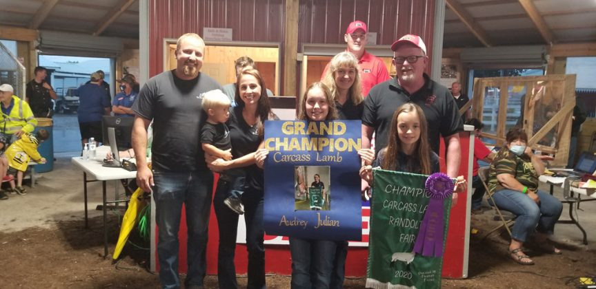 Grand Champion Carcass Lamb