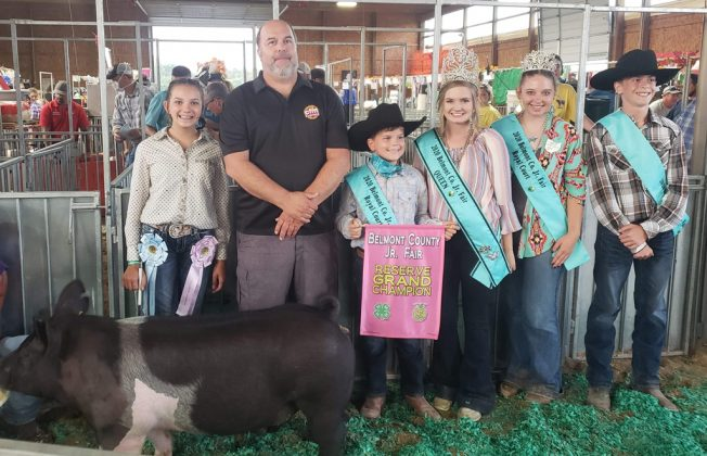 Reserve Champion Swine