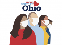 Ohio Department of Health Mask-Wearing Sign