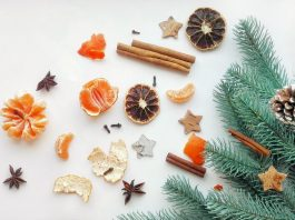 christmas tree fruit decorations