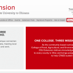 Ohio State Extension site