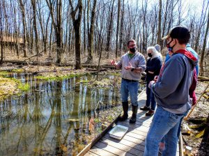 University of Mount Union vernal pool tour