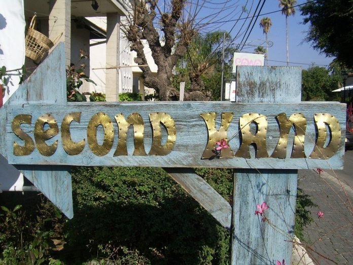 second-hand sign
