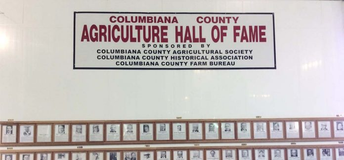 The late Harold J. Thompson and Harold A. Windram will be enshrined in the Columbiana County Agriculture Hall of Fame, Aug. 3, for their contributions to agriculture and the greater Columbiana County community.
