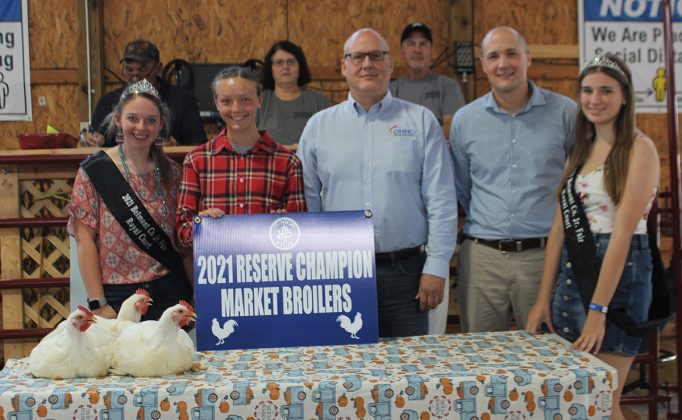 Reserve Champion Broilers